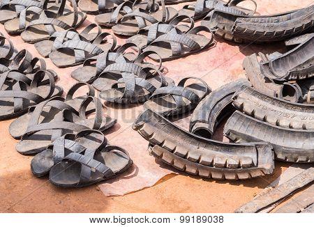 Tyre Sandals