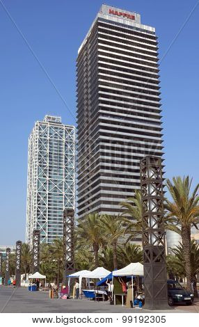 Skyscraper Torre Mapfre