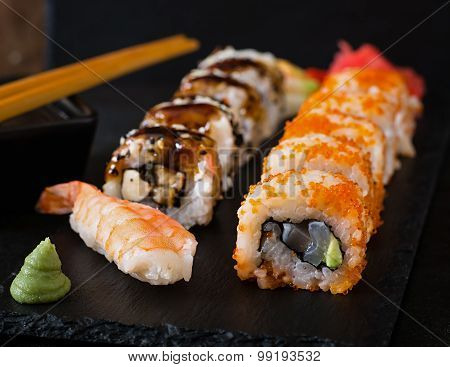 Japanese food - Sushi and Sashimi
