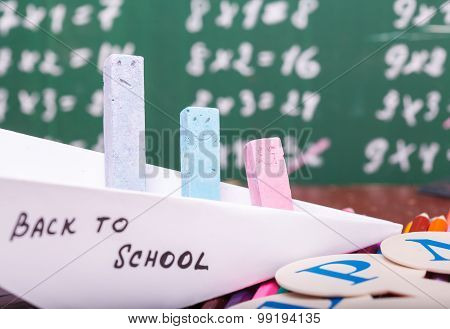 Paper Plane At School Lesson