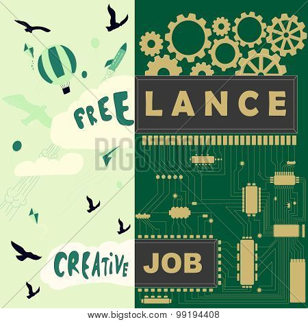 freelance creative job illustration