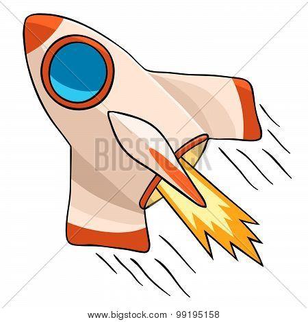 Flight Cosmic rocket