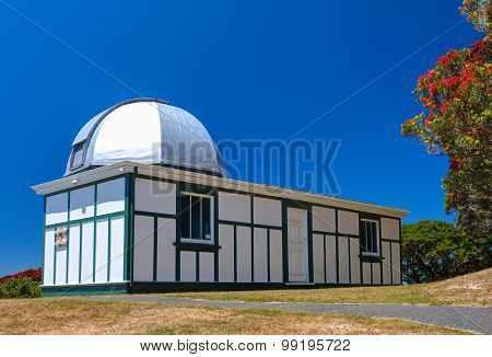The Carter Observatory. Wellington city, New Zealand.