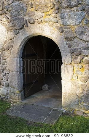 Old Arch Doorway