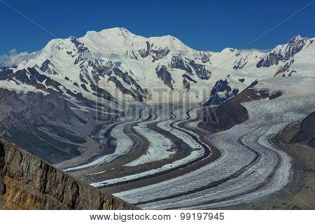 View from Donoho peak, Alaska
