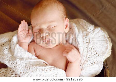 Sweet Newborn Baby