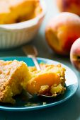 Постер, плакат: Piece Of Homemade Peaches Pie