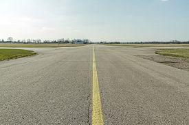 image of ultralight  - Airports small sport airplane preparing to flight  - JPG