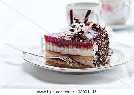 Pie With Chocolate