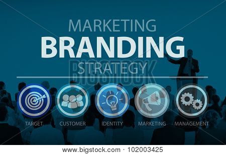 Brand Branding Marketing Commercial Name Concept