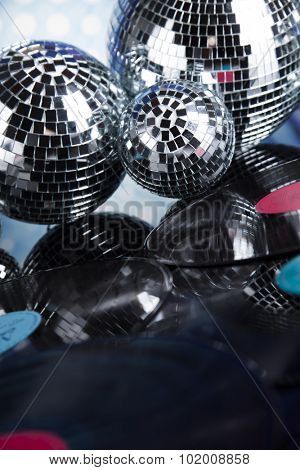 Sound waves and Disco Balls