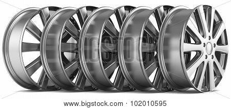 Metal Car Wheels