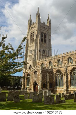 Church of St Mary the Virgin St Neots