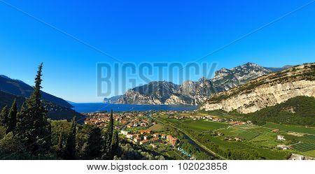 Torbole And Garda Lake - Trentino Italy