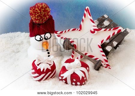 Presents In The Snow