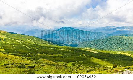 Montenegrin Ridge In Carpathians