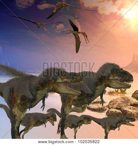 Daspletosaurus Dinosaurs
