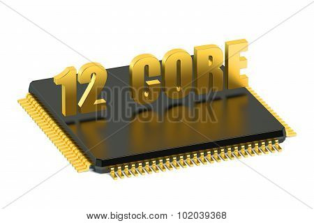 12 Core Chip Cpu For Smatphone And Tablet