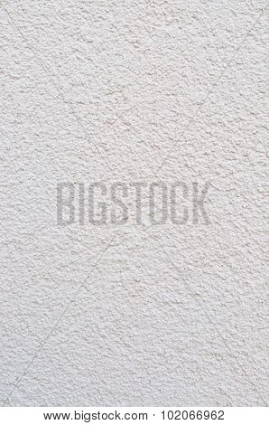 Bright Grey Beige Plastered Wall Stucco Texture, Detailed Natural Gray Coarse Rustic Textured