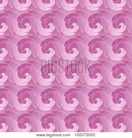 Seamless Pattern With Abstract Swirl