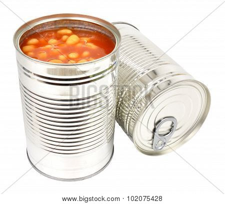 Two Tins Of Baked Beans