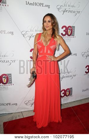 LOS ANGELES - SEP 17:  Zulay Henao at the Padres Contra El Cancer's 15th Annual