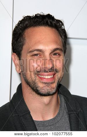 LOS ANGELES - SEP 17:  Thomas Sadoski at the Audi Celebrates Emmys Week 2015 at the Cecconi's on September 17, 2015 in West Hollywood, CA