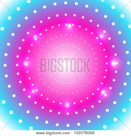 magical spotlight vector background
