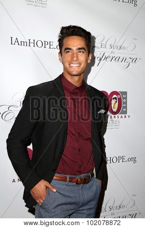 LOS ANGELES - SEP 17:  Jose Moreno Brooks at the Padres Contra El Cancer's 15th Annual