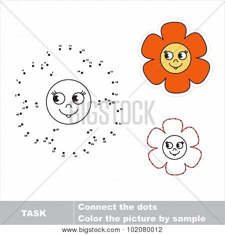 Dot to dot children search game.