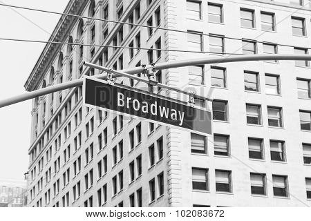 Broadway Sign, New York City