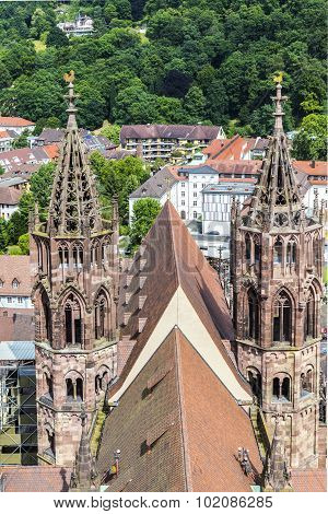 The Minster Of Freiburg (germany)