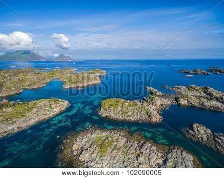 Islets On Lofoten Coast