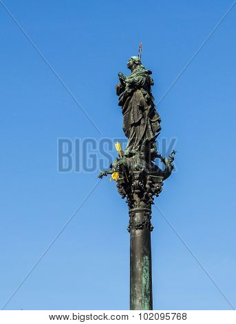 Marian Column In Vienna Am Hof