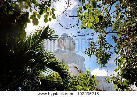 The big buddha in Thailand. Travel to Asia, Phuket