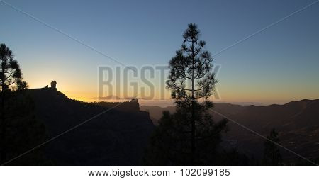 Sunset On Gran Canaria
