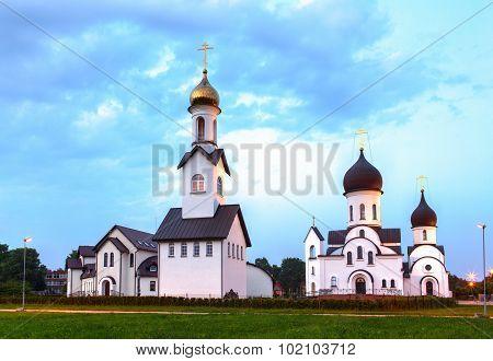 Pokrov-Nikolskaya orthodox church in Klaipeda, Lithuania.