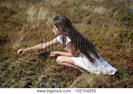 Girl In Valley