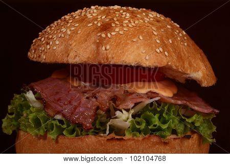 One Big Burger