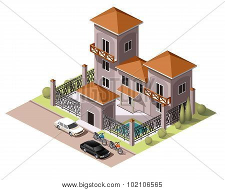 Set Tiles Vector Buildings