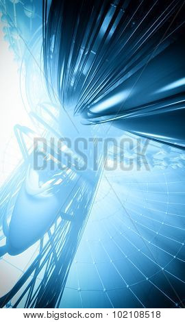3D cyberspace