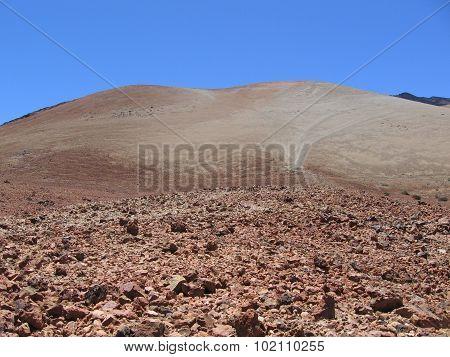 Lava fields on Tenerife