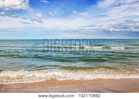 Landscape Ocean Sky Horizental Line