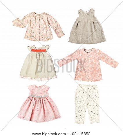 Set Of Different Children's Clothes