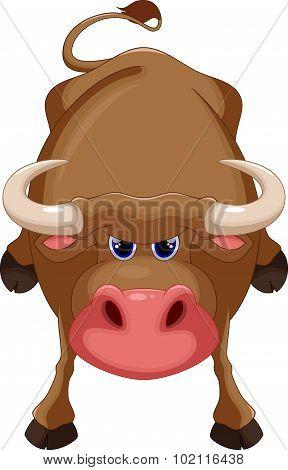 Bull cartoon