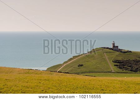 Belle Tout lighthouse from a distance