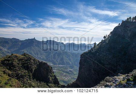 Gran Canaria, Caldera De Tejeda