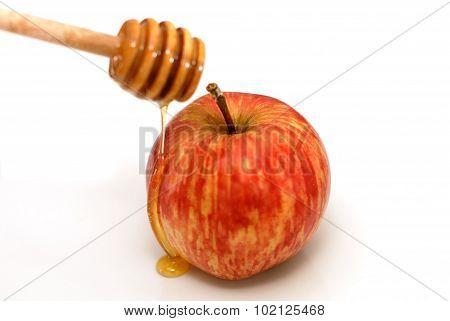 Rosh Hashanah Traditional Apple And Honey