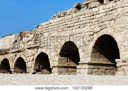 Old Caesarea Aqueduct