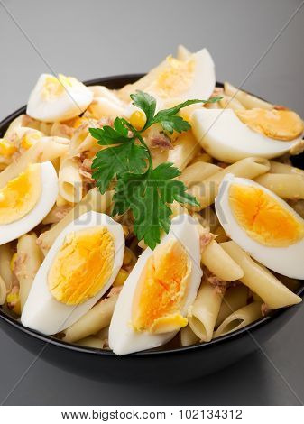 Penne With Tuna And Eggs